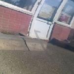 Царапины на кузове, обработанные волшебным карандашом 2